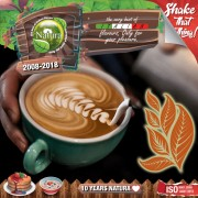 Natura Premium MIX and SHAKE Short Fill 60+40мл - Tobacco Coffee Latte