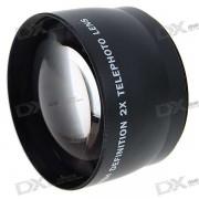 58mm 2.0X Filtro de Lente Telefoto