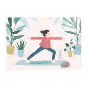 Dille&Kamille Carte, yoga et chat