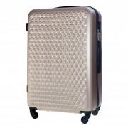 Mała walizka kabinowa ABS bagaż podręczny Ryanair - RÓŻOWE ZŁOTO