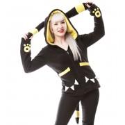 kapucnis pulóver női - MOON - CUPCAKE CULT - POI239