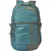 F Gear Blow Laptop Backpack With Rain Cover 32 Liters (Aqua Blue Grey)