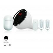Smanos W100 WiFi/PSTN riasztórendszer + IP6 HD WiFi kamerarendszer készlet W100/IP6