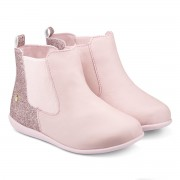 Ghete Fetite Bibi Rainbow Roz Glitter