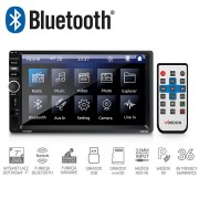 MP3 Player Universal 2DIN Auto cu Radio FM, Touchscreen Display 7 inch, Telecomanda, Bluetooth, USB, MicroSD, AUX, Karaoke, Putere 4x45W, Vordon