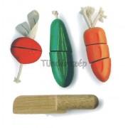 Fa Tépőzáras Zöldségek