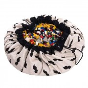 PLAY & GO Sac rangement / Tapis - Mr Moustache - Play and Go