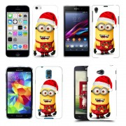Husa Allview V1 Viper i Silicon Gel Tpu Model Craciun Minion Christmas