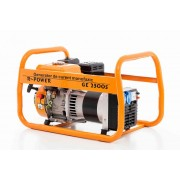 Generator Ruris R-Power GE 2500 S, 2500 W, 7 CP, motor General engine, 4 timpi