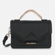 Karl Lagerfeld Women's K Klassik Medium Shoulder Bag - Black