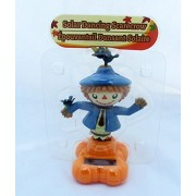 Thanksgiving Scarecrow Solar Dancing Harvest Decor Autumn Fall Decoration Decorations