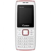 Ziox Starz Mini (Dual SIM 1.8 Inch Display 800 Mah Battery White-Red)