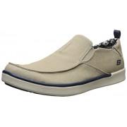 Skechers USA Men's Boyar Lented Slip-on Loafer, Tan, 7 M US