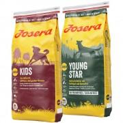 Josera Junior mix gazdaságos csomag 2 x 15 kg - FamilyPlus + Kids