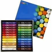Olie pastelkrijt gekleurd 24 stuks