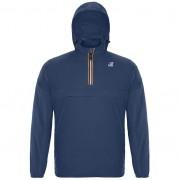 K-Way Vestes printemps/été unisexe Capuche Regularfit Paquetable Le Vrai Léon 3.0 Bleu Jeans - L