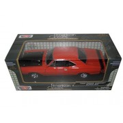1969 Dodge Coronet Super Bee Orange 1/24 By Motormax 73315