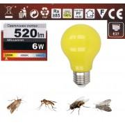 Крушка невидима за мухи, комари и други летящи насекоми