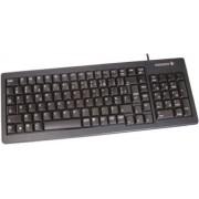 Cherry Tastiera Nero Cablato PS/2, USB , AZERTY Compatta, G84-5200LCMFR-2