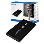CAJA EXTERNA 2 5 USB20 SATA LOGILINK ALU UA0041B NEGRA
