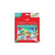 Ecolápis de Cor Aquarelável Faber-castell 24 Cores