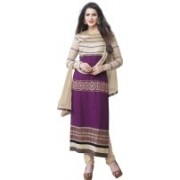 Lovelylook Georgette Embroidered Salwar Suit Dupatta Material(Un-stitched)