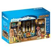 PLAYMOBIL Egyptian Tomb Play Box Playset, Multicolor