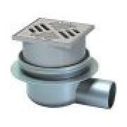 Sifon Kessel 40170.20, Classic bathroom drain, 100x100mm, diametru 75