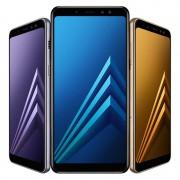 """Samsung Galaxy A8 (2018) Dual SIM 4G 5.6"""" Octa-Core 4GB RAM Tri-Camera"""