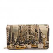 Guess Portafoglio Donna con Bottone Y NOT YES-364 New York Fifth Avenue