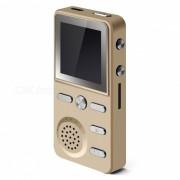 """KELIMA 1.4 """"Pantalla Reproductor de Musica de 4GB MP3 con Reloj Despertador - Dorado"""