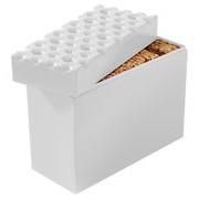 Koziol Boîte hermétique Brod pour biscuits - Koziol blanc en matière plastique