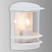 BRILLIANT Aplique para exterior Hollywood elegante, blanco