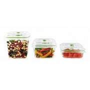 Food Saver Combo 3 Fresh Cont ainers 1,8L + 1,2L + 0,7L