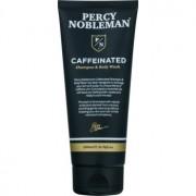 Percy Nobleman Hair sampon pe baza de cofeina pentru barbati pentru corp si par 200 ml