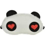 Jonty RH Panda Travel Sleep Cover Blindfold Eye Shade(White)