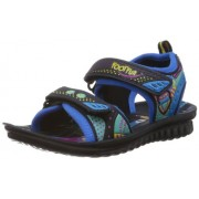 Footfun (from Liberty) Phantom- 1 Navy Blue Floaters and Sandals - 6 kids UK/India (23 EU)