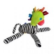 Jucarie plus zebra - papagal moale si coloarata jucaria copilului tau multicolor 35 cm Zep