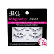 Ardell Magnetic Lashes Double 110 magnetické řasy 1 ks odstín Black pro ženy