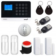 Sistem complet de alarma SMART WiFi, GSM, RFID, compatibil Tuya / Smart Life