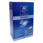 Alcon AOSept Plus with HydraGlyde Twin Pack (2*360ml)