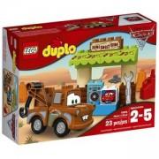 Конструктор ЛЕГО ДУПЛО - Гаражът на Матю, LEGO DUPLO, 10856