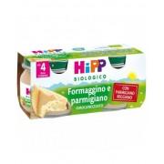 Hipp Italia Srl Hipp Biologico Omogeneizzato Formaggino E Parmigiano 2x80g