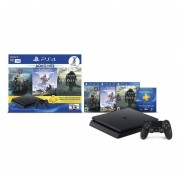 Consola Playstation 4 1 TB GOW Shadow of Colossus Horizon Zero Dawn