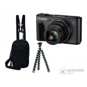 Aparat foto Canon PowerShot SX730 HS Travel kit, negru