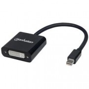 Manhattan Adattatore Mini-DisplayPort passivo a DVI-I Nero