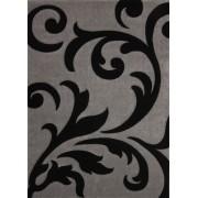 Covor Modern & Geometric Moura, Negru, 80x150