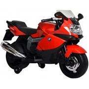 SINGH AGENCIES, 12V BMW K1300S Battery Operated Ride On Bike for Kids, Riding Bike, Red
