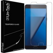 Un-Tech Tempered Glass Screen Protector for Samsung Galaxy C7 Pro with Installation Kit