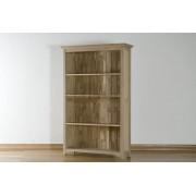Corbridge Oak Corbridge Light Oak 5ft Bookcase Fully Assembled